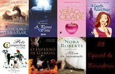 Blog As 1001 Nuccias - sorteio de aniversário do blog parceiro Livros & Tal.