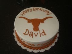Longhorn Cupcake Ideas | sugar boo sweets texas longhorns birthday cake