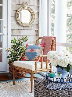 Tour Estee Stanley's Hamptons Porch Makeover