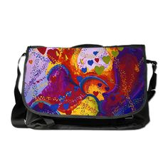 The Power of Love Messenger Bag hearts, Valentines Day  by Diane Clancy's Art   #DianeClancy