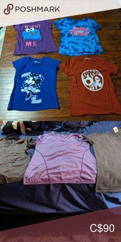Shirts Casual t-shirts Tops Tees - Short Sleeve Plus Fashion, Fashion Tips, Fashion Trends, Casual T Shirts, Tees, Sleeves, Mens Tops, Closet, Outfits