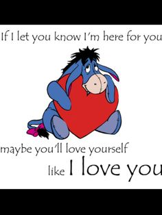 Most memorable quotes fromEeyore, a movie based on film. Find important Eeyore and piglet Quotes from film. Eeyore Quotes about winnie the pooh and friends have inspirational quotes. Eeyore Quotes, Winnie The Pooh Quotes, Disney Winnie The Pooh, Best Love Quotes, Cute Quotes, Bff Quotes, Friend Quotes, Qoutes, Eeyore Pictures
