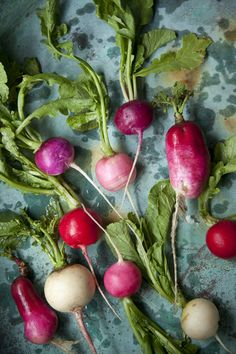 try a dish with radish