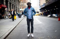 Street Style: James Jean in Brooklyn Circus, J. Crew, Timex & More