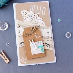 mojosanti : Karten mit einem Verpackungskit von #dunnewithstylewrapit I 'Wrap it kit' from dunnewithstyle
