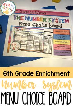 This enrichment menu project is an amazing differentiation tool that not only empowers students through choice but also meets their individual needs. Students can either choose to complete activities from the project menu or design their own projects with the approval of their teachers by completing the project proposal.