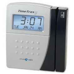 Pyramid TimeTrax ez TTezEK Automated Time and Attendance - Magnetic Strip - 50 Employee