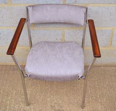 Upcycled 1960s army office chairs by Frances Bradley. www.brunswickvintage.com