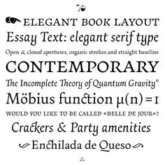 Essay Text | Typeface Review | Typographica