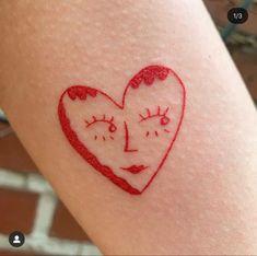 Red Ink Tattoos, Dainty Tattoos, Dope Tattoos, Pretty Tattoos, Mini Tattoos, Body Art Tattoos, Small Tattoos, Tatoos, 16 Tattoo