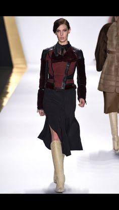 J Mendel NYFW - that skirt!!