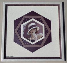 les cadres de Manel / variante 5 hexagones-décalés ( tech publiée dans PC 6)