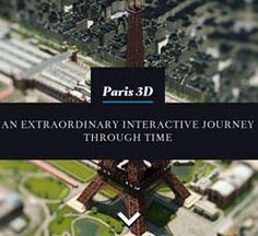 "WIN A ""PARIS 3D SAGA"" EXCLUSIVE PACK  Dive into … Paris3D!    The Paris3D project will be unveiled by Dassault Systemes in an exclusive event on ""le parvis de l'Hôtel de Ville"" in Paris, France on September 29, 2012 at 9.00PM. And you may win A TRIP TO PARIS for this exclusive event  just by entering your email  and pressing a button. Remember the Gizeh pyramid in 3D from Dassault Systemes? They did it again with Paris this time."
