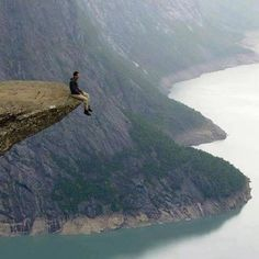 On the Edge, Trolltunga, Norway #EarthPix Photo via @VisitPics #Padgram