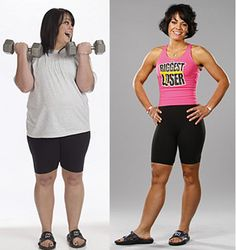 Ali Vincent Biggest Loser season 5 winner... great endurance, very 1st female winner & made a career out of speaking on caring for oneself enough to improve