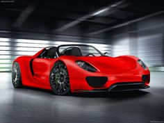 Porsche 918 Spyder red gallery. MoiBibiki #3