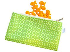 Cloth Snack Bag – Dot NZ Shop Great Schools, Snack Bags, Young At Heart, School Lunches, Pouches, Spoon, Back To School, Coin Purse, Dots