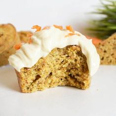 CARROT CAKE MUFFINS... - Healthy Clemsy