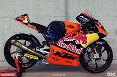 KTM Moto3 bike