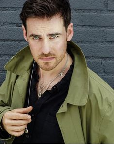 I seriously have no words. he's so PERFECT! cant WAIT to see more from . Killian Jones, Killian Hook, Colin O'donoghue, Ouat, Once Upon A Time, Scott Michael Foster, Scruffy Men, Handsome Guys, Hook And Emma