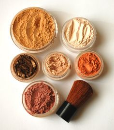 Fall Glow Mineral Makeup Kit by BeneficialMinerals on Etsy $23.95 #etsy #makeup #handmade