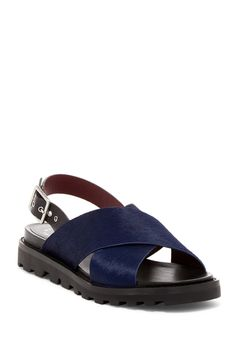 Gramercy Genuine Calf Hair Sandal by Marc by Marc Jacobs on @nordstrom_rack