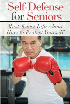 Self-Defense for Seniors: How to Protect Yourself Best Martial Arts, Martial Arts Styles, Martial Arts Workout, Martial Arts Training, Boxing Training, Self Defense Classes, Self Defense Moves, Self Defense Cane, Krav Maga Techniques
