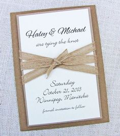 rustic country wedding invitations nz - Google Search