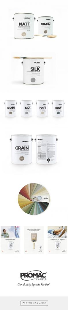 Promac Paints Branding & Packaging | Designed by Burg Design