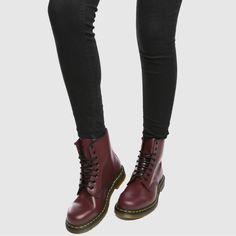 Dr Martens burgundy boots: http://shopstyle.it/l/m9J8