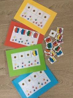 Zoek de juiste boekentas. 3 verschillende kleuren combineren *liestr*