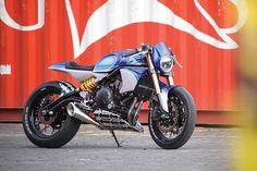 Racing Cafè: Kawasaki Ninja 650 by Smoked Garage