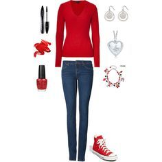 fancy up those red converse:)