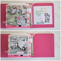 Mini Book *2* - Innenseiten - Crate Paper *Cute Girl* - von Ulrike Dold