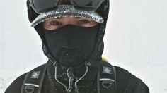 Zimowy człowiek