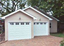 Blue Sky Builders has been building custom garages in Chicago & the Western suburbs since Looking for a new garage? Custom Garages, Dream Garage, Shed, Outdoor Structures, Building, Blue, Backyard Sheds, Buildings, Coops