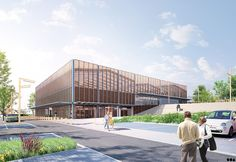 SOA Architectes Paris > Projets > ÉCO-QUARTIER & HALLE DEMARCHÉ                                                                                                                                                                                 Plus