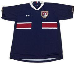 NIKE Sphere Dry USA Soccer Jersey Shirt Mens Size Large US Red White Blue  Vtg Sz 19604f366