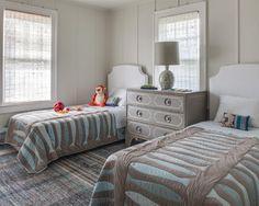 twin bedroom | Kati Curtis Design