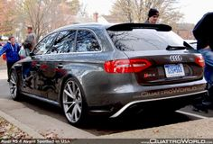 Stop Everything, There's An Audi RS4 Avant In America