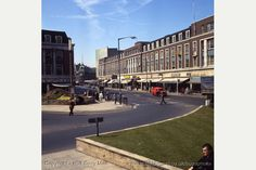 King Edward Street to Queen Victora Square - 1970s