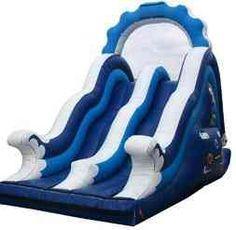 Model 7056 Inflatable Dual Lane Water Slide
