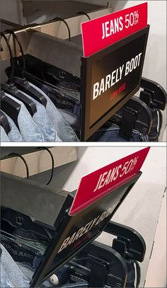 Faceout Sign Holder Offers Two-Positions – Fixtures Close Up Retail Shop, Retail Price, Price Signage, Store Displays, Advertising Design, Retail Design, Shop Ideas, Header, Magazine