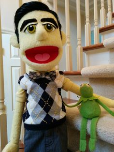 blaine!puppet — Hey Kurt! Look who's here! Wanna come over?
