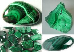 "rad-magick: "" Since I was busy moving out of my dorm last week and with mid-terms I missed crystal Tuesday and I am posting two this week. This weeks stone is Malachite. (Insert Steven Universe..."