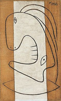 Pablo Picasso - 'Head of a Woman' , 1927
