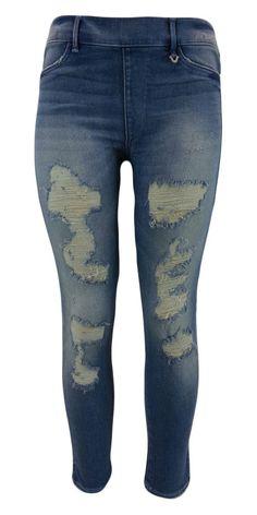New True Religion Women's Leggings Runway Legging Jeans WC856XS61 DBWM Blue XXS
