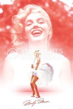 Poster: Marilyn Monroe - pink zum Verkauf online. Bestellen Sie Ihre Poster, Ihre 3D Film-Poster oder ähnliches interessantes Maxi Poster