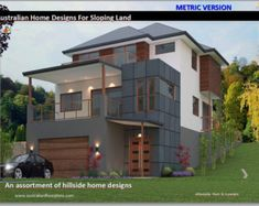 Hillside House Floor Plans For Sloping Land Over 50 Homes Designs, house plans, sloping land house plans, modern house plans, affrodable Craftsman House Plans, Modern House Plans, Small House Plans, House Floor Plans, Block House, Double Storey House Plans, House Plans Australia, House Plans For Sale, 5 Bedroom House Plans