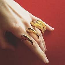 Claw ring BJØRG jewellery